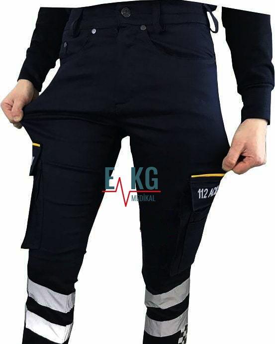 112 Likralı Pantolon   Paramedik Pantolonu   112giyim.com