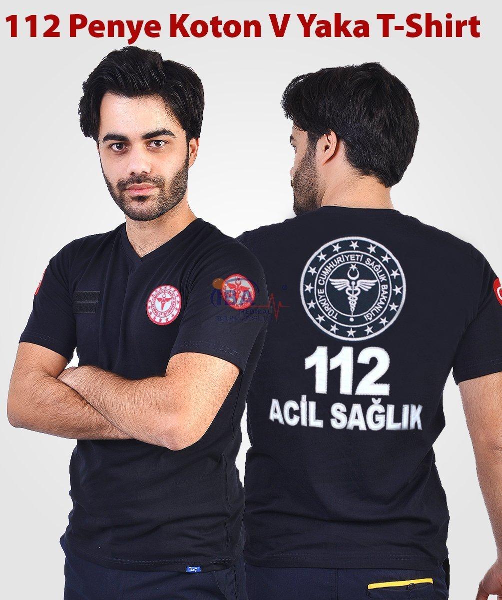 112 Penye T-shirt | 112 Kıyafetleri | 112giyim.com