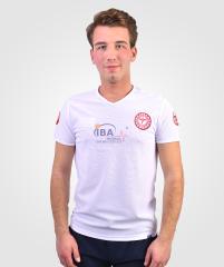 112 T-Shirt V Yaka Comfort Beyaz | 112 Kıyafetleri