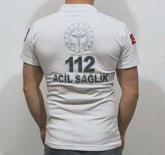 112 Beyaz Lacost T-shirt