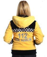 112 Polar Çift Renk Kapşonlu | 112 Polar Çeşitleri | 112giyim.com