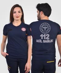 112 Tişört Comfort V Yaka | 112 Kıyafetleri | 112giyim.com