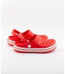 Kırmızı-Beyaz Bayan Eva Terlik (Yerli Crocs)