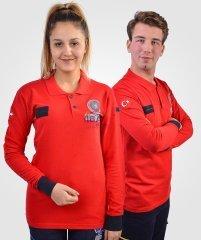 UMKE Lacost Uzun Kollu T-shirt | Tişört Çeşitleri | 112giyim.com